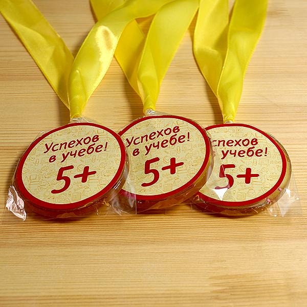Леденец - медаль на ленте (наклейка)