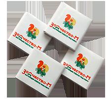 Шоколад с логотипом 5г. Зодчество-М