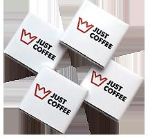 Шоколад с логотипом 5г. JustCofee