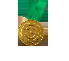 Шоколадные медали на ленте Экспериментаниум